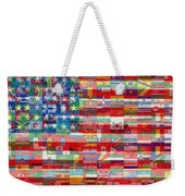 American Flags Of The World Weekender Tote Bag