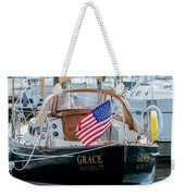 American Pride At The Marina Weekender Tote Bag