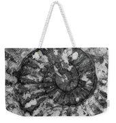 Ammonite Fossil Bw Weekender Tote Bag