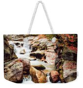 Ammonoosuc River, Autumn Weekender Tote Bag by Jeff Sinon