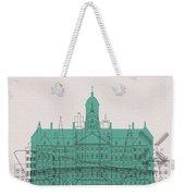 Amsterdam Landmarks Weekender Tote Bag
