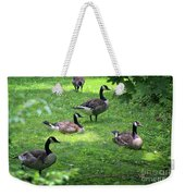 An Afternoon With Canada Geese Weekender Tote Bag