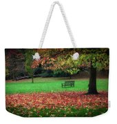 An Autumn Bench At Clyne Gardens Weekender Tote Bag
