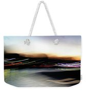 An Early Morning Blur Weekender Tote Bag