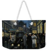 An Evening Stroll On The Boulevard Weekender Tote Bag