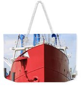 An Old Tour Vessel Fisher Weekender Tote Bag