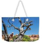 Ancient Dead Juniper With Character Weekender Tote Bag