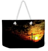 And On The Eighth Day Weekender Tote Bag