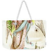 Angel  Carrying A Palm Branch Weekender Tote Bag
