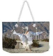 Angel Swirling In The Desert Weekender Tote Bag