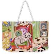 Animal Family 1 Weekender Tote Bag