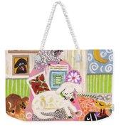 Animal Family 2 Weekender Tote Bag
