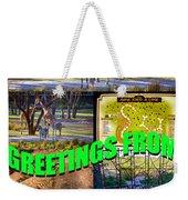 Animal Kingdom Custom Greeting Card Weekender Tote Bag