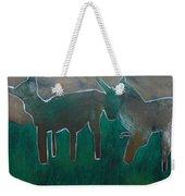 Animals In A Field Weekender Tote Bag