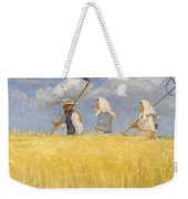 Anna Ancher - Harvesters Weekender Tote Bag