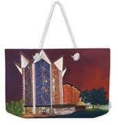 Anniversary Chapel Weekender Tote Bag