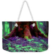 Another World - Overgrown Weekender Tote Bag by Scott Lyons
