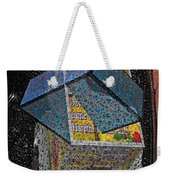 Antique Car Fender With 3d Text Boxes Weekender Tote Bag