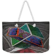 Antique Car Hood With 3d Text Boxes Weekender Tote Bag