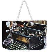 Antique Typewriter 2 Weekender Tote Bag