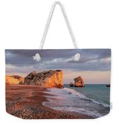 Aphrodite's Birthplace Or Petra Tou Romiou In Cyprus 2 Weekender Tote Bag