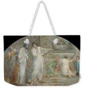 Apparition Of Saint Didacus Above His Sepulchre  Weekender Tote Bag