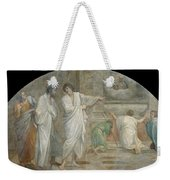 Apparition Of Saint Didacus Above His Sepulchre  Weekender Tote Bag