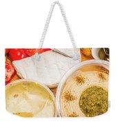 Appetizers Delight Weekender Tote Bag