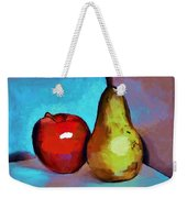 Apple And Pear Weekender Tote Bag