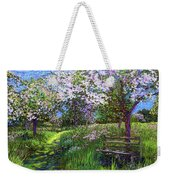 Apple Blossom Trees Weekender Tote Bag