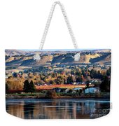 Apple Country Along The Columbia River Weekender Tote Bag