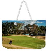 Approaching The 18th Green Weekender Tote Bag