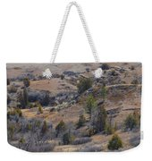 April Badlands Near Amidon Weekender Tote Bag