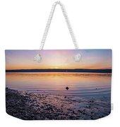 April Dawn On The Hudson River II Weekender Tote Bag