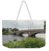 Arch Bridge Over River, Cambridge Weekender Tote Bag