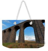 Arches And Piers Of The Ribblehead Viaduct North Yorkshire Weekender Tote Bag