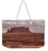Arizona Red Clay Painted Desert Panoramic View Weekender Tote Bag