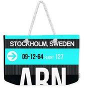 Arn Stockholm Luggage Tag II Weekender Tote Bag