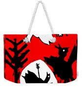 Arrow Shot Bird Weekender Tote Bag