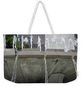 Arthur J. Will Memorial Fountain Weekender Tote Bag