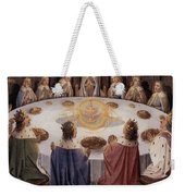 Arthurian Legend, The Knights Of The Round Table Weekender Tote Bag