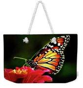 Artistic Monarch Weekender Tote Bag