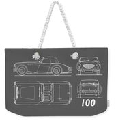 The Austin-healey 100 Weekender Tote Bag