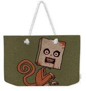 Psycho Sack Monkey Weekender Tote Bag