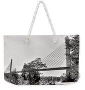 Penobscot Narrows Bridge And Observatory Weekender Tote Bag