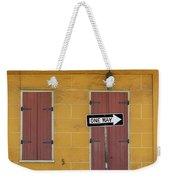 One Way, Love Weekender Tote Bag