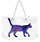 Space Cat Weekender Tote Bag