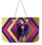 Burlesque Cher Diamond Weekender Tote Bag