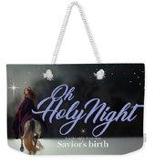 Savior's Birth Weekender Tote Bag