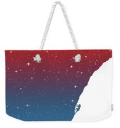 Night Climbing II Weekender Tote Bag